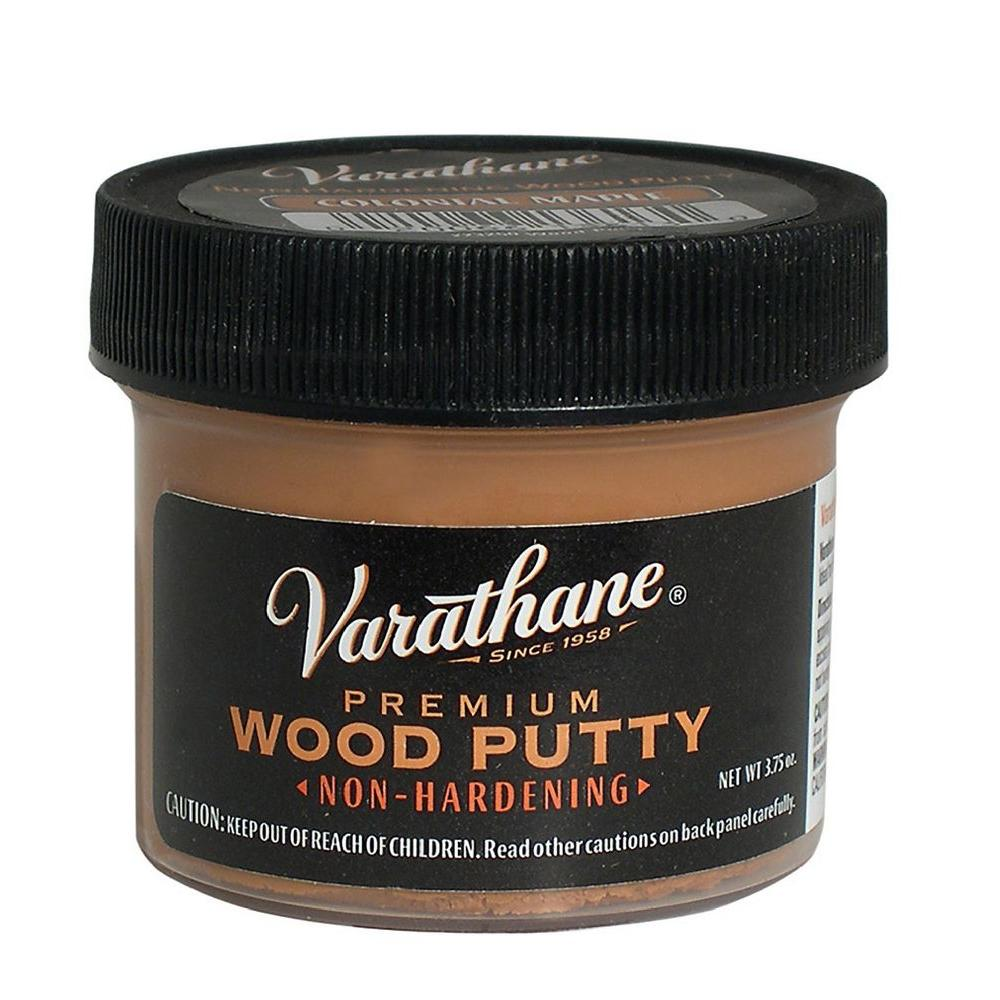 Varathane 3.75 oz. Colonial Maple Wood Putty (Case of 6)