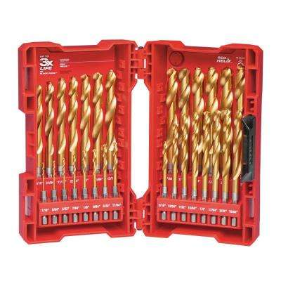 SHOCKWAVE IMPACT DUTY Titanium Drill Bit Set (29-Piece)