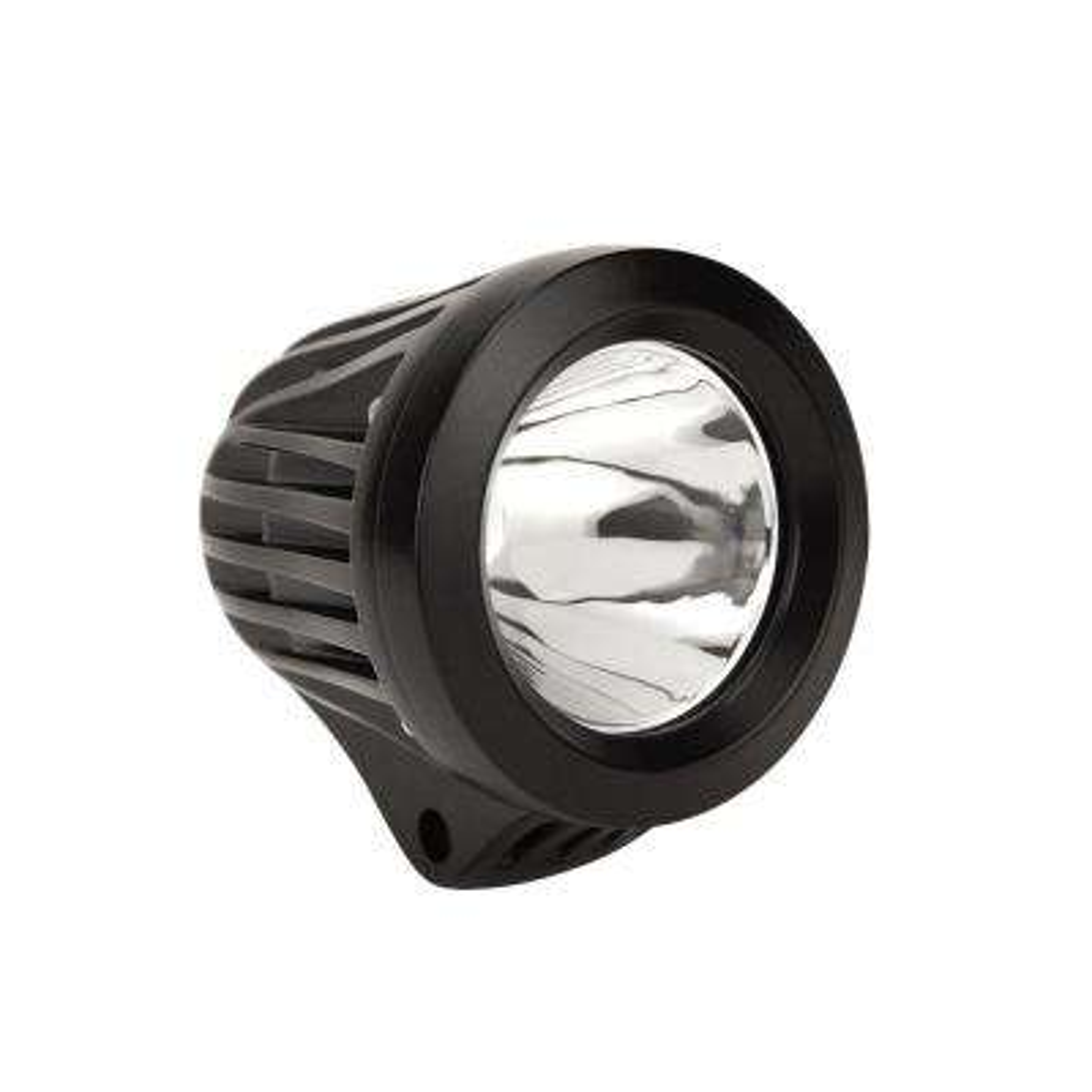 Striker LED Auxiliary Light 3.4 inch Round Spot w/25W Cree - Black