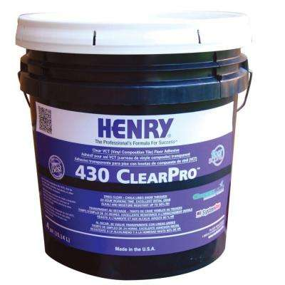 430 4 Gal. ClearPro VCT Adhesive