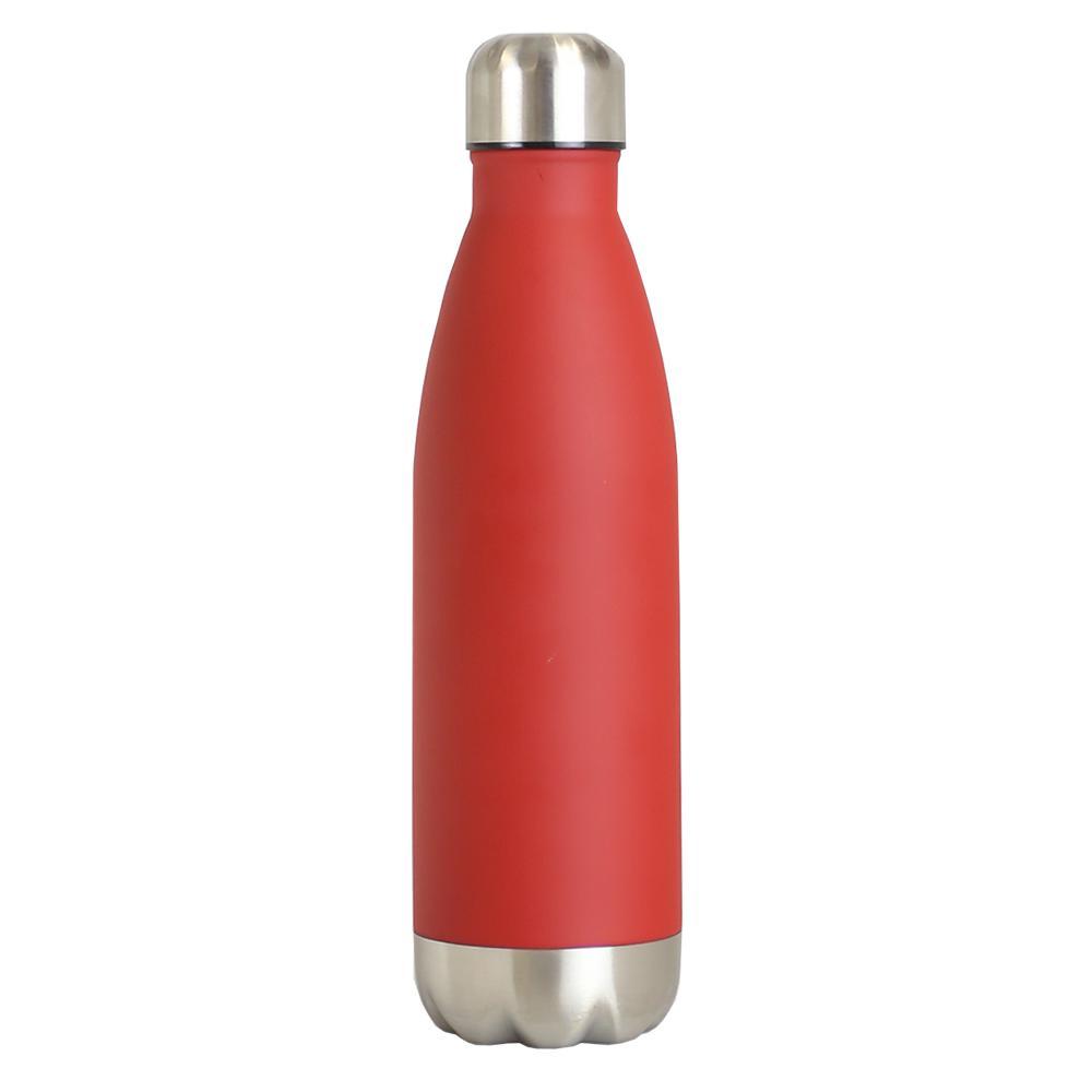 Home Basics 16 oz. Red Travel Mug VF47294