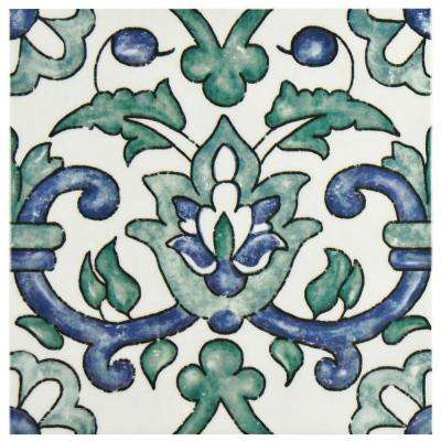 Bourges Gaia 7-7/8 in. x 7-7/8 in. Ceramic Wall Tile (10.76 sq. ft. / case)