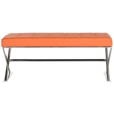 Micha Orange Bench