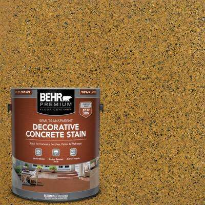 1 gal. #DCS-865 Terra Cotta Semi-Transparent Flat Interior/Exterior Decorative Concrete Stain