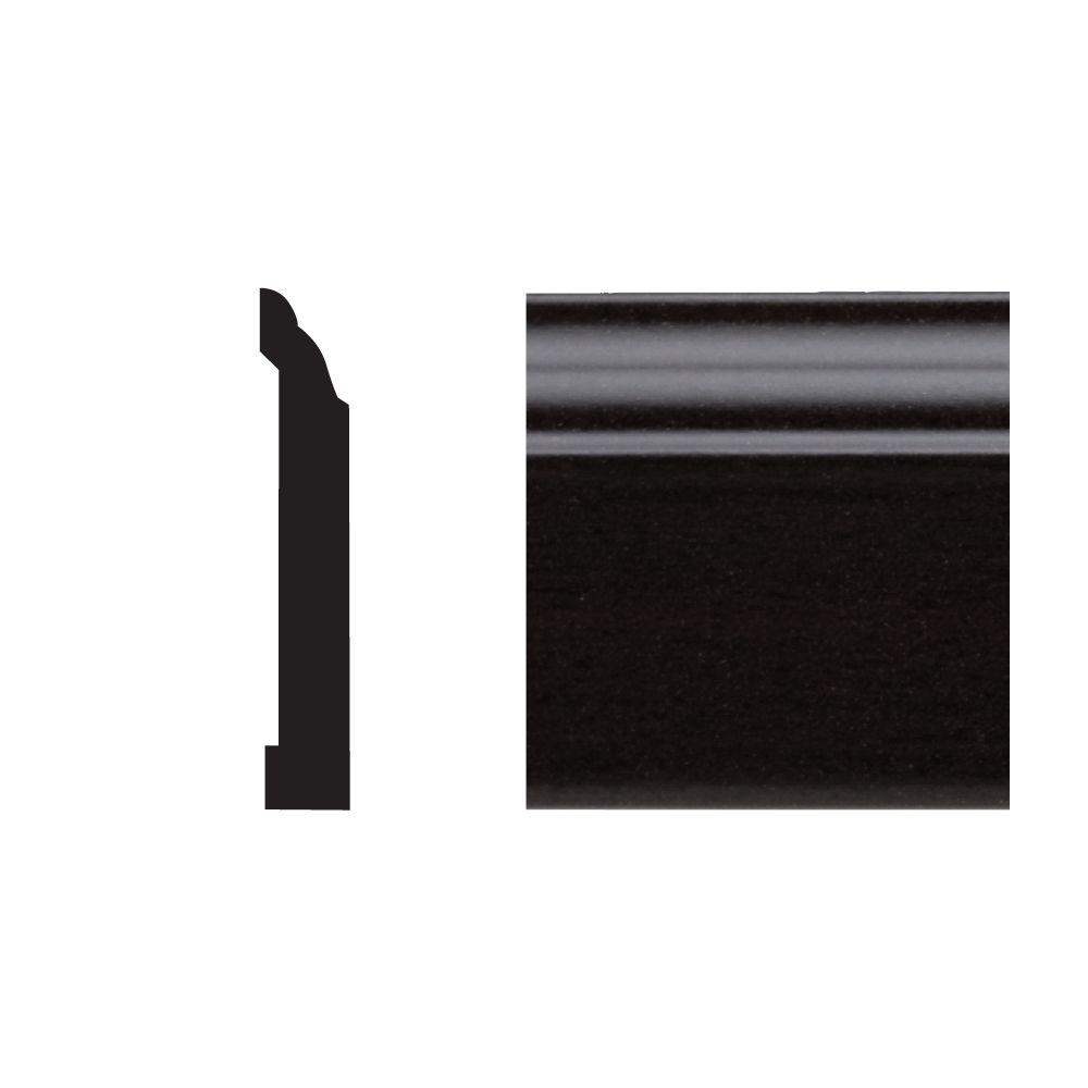 Royal Mouldings 5523 7/16 in. x 3-1/4in. x 8 ft. OVC Base Espresso Moudling