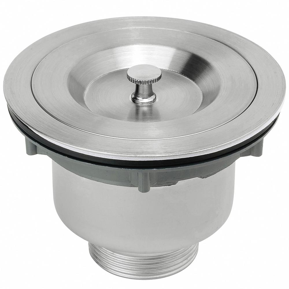 3.5 in. Multi-Layer Round Stainless Steel Kitchen Sink Drain and Strainer