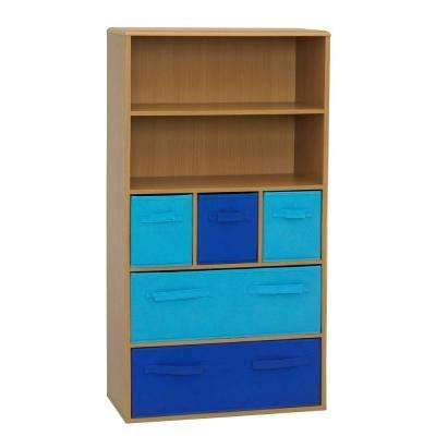 Beech Storage Kids Bookcase