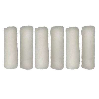 4 in. x 1/4 in. Woven Roller Cover (6-Pack)