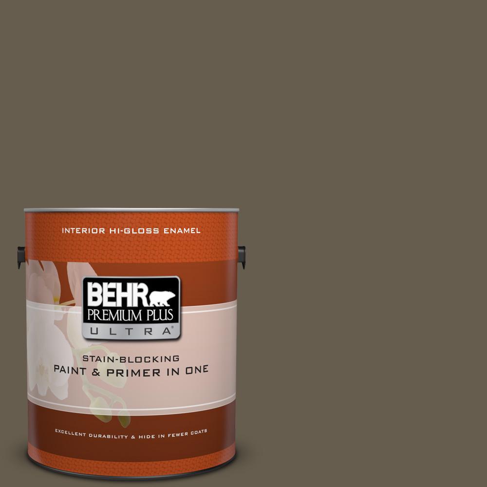 #N320-7 Primitive Hi-Gloss Enamel Interior Paint
