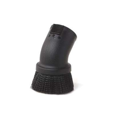 2-1/2 in. Locking Accessory Round Dusting Brush for Wet/Dry Vacs