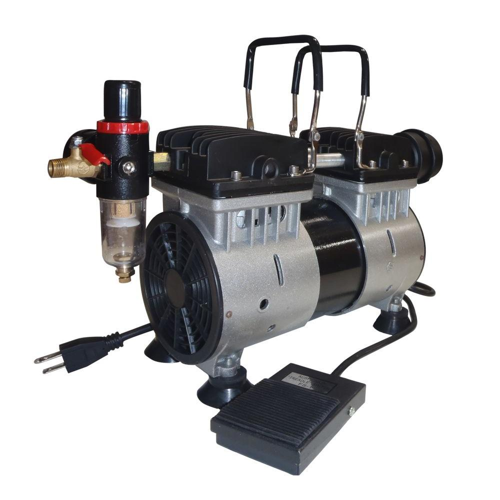 California Air Tools 1 HP Ultra Quiet and Oil-Free Tankless Air Compressor-DISCONTINUED