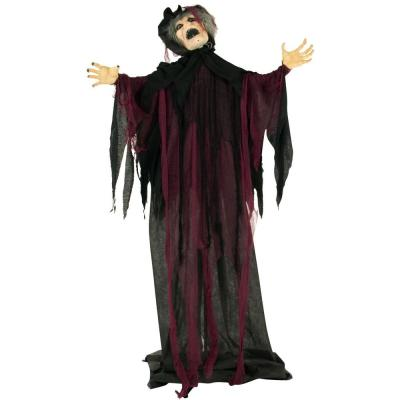 67 in. Touch Activated Animatronic Witch