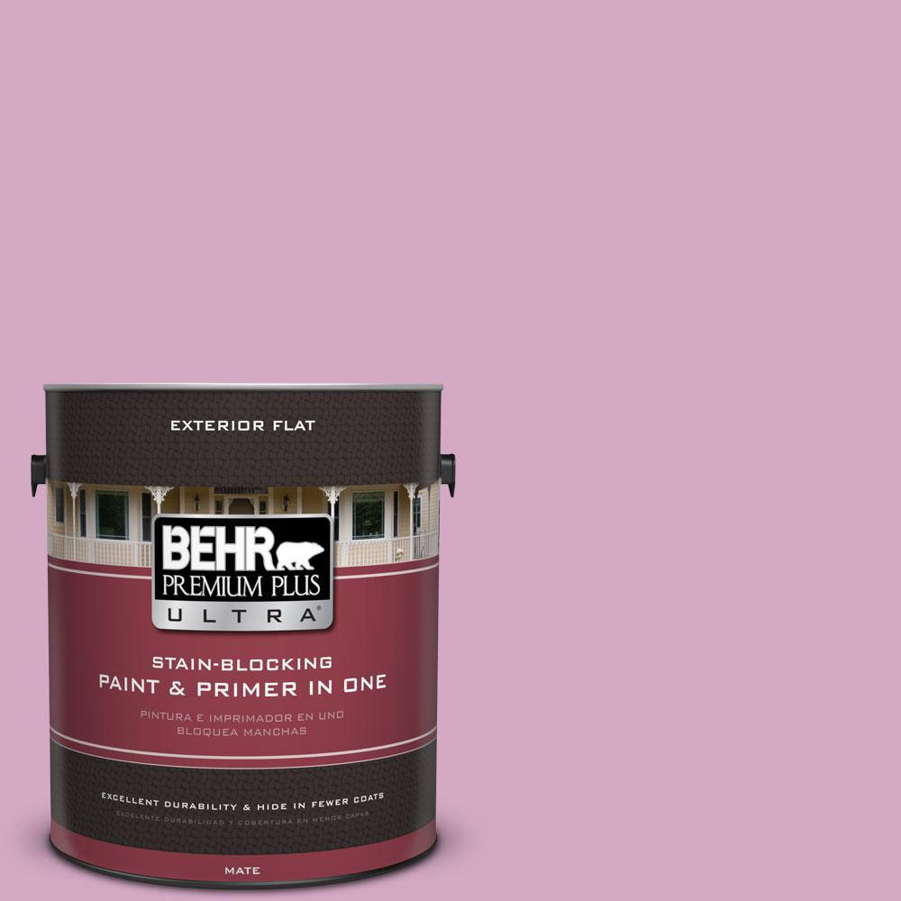 BEHR Premium Plus Ultra 1-gal. #M120-4 Heart to Heart Flat Exterior Paint
