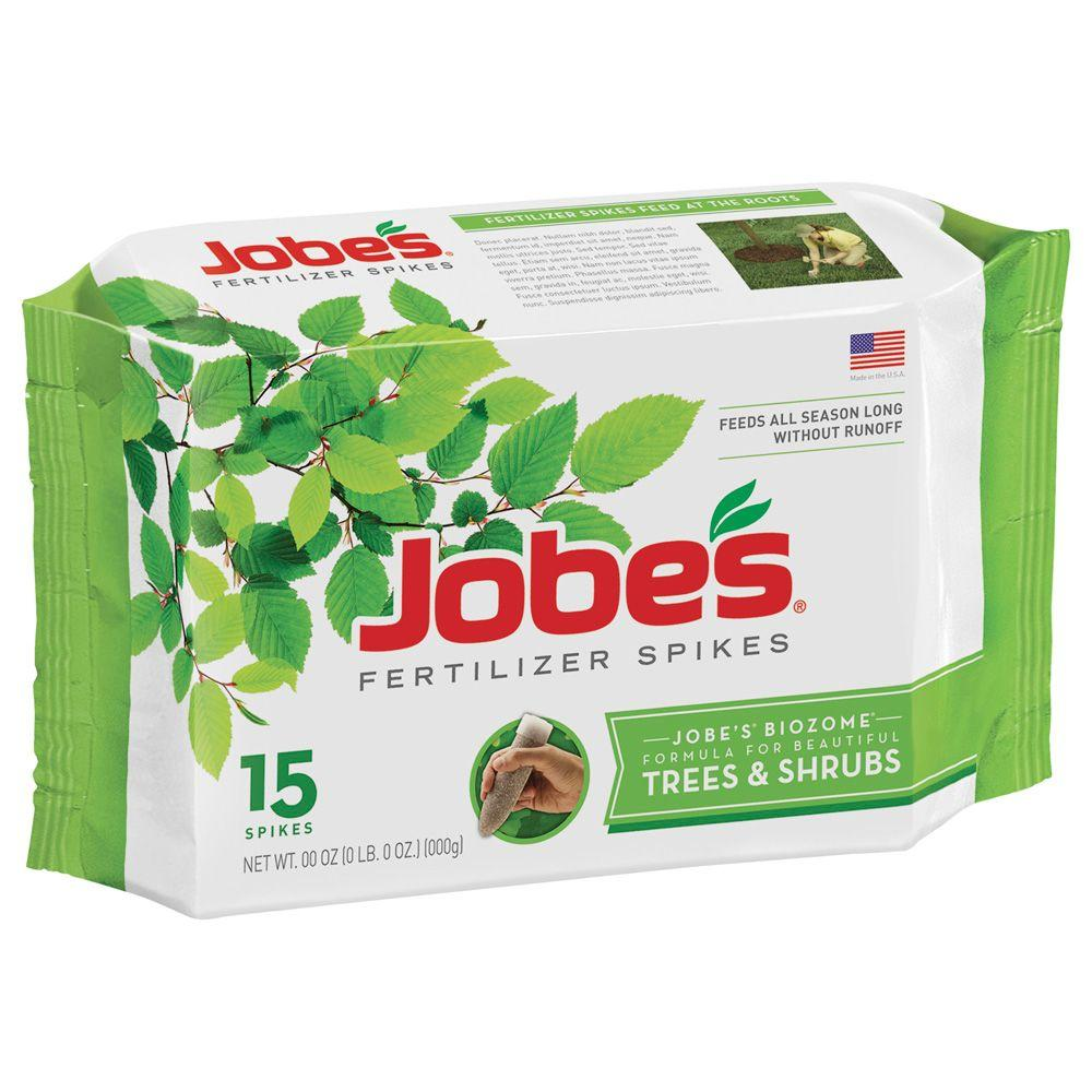 Jobe S Tree And Shrub Fertilizer Spikes 15 Pack