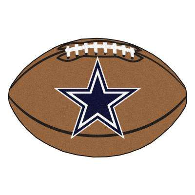 NFL Dallas Cowboys Brown 2 ft. x 3 ft. Specialty Area Rug