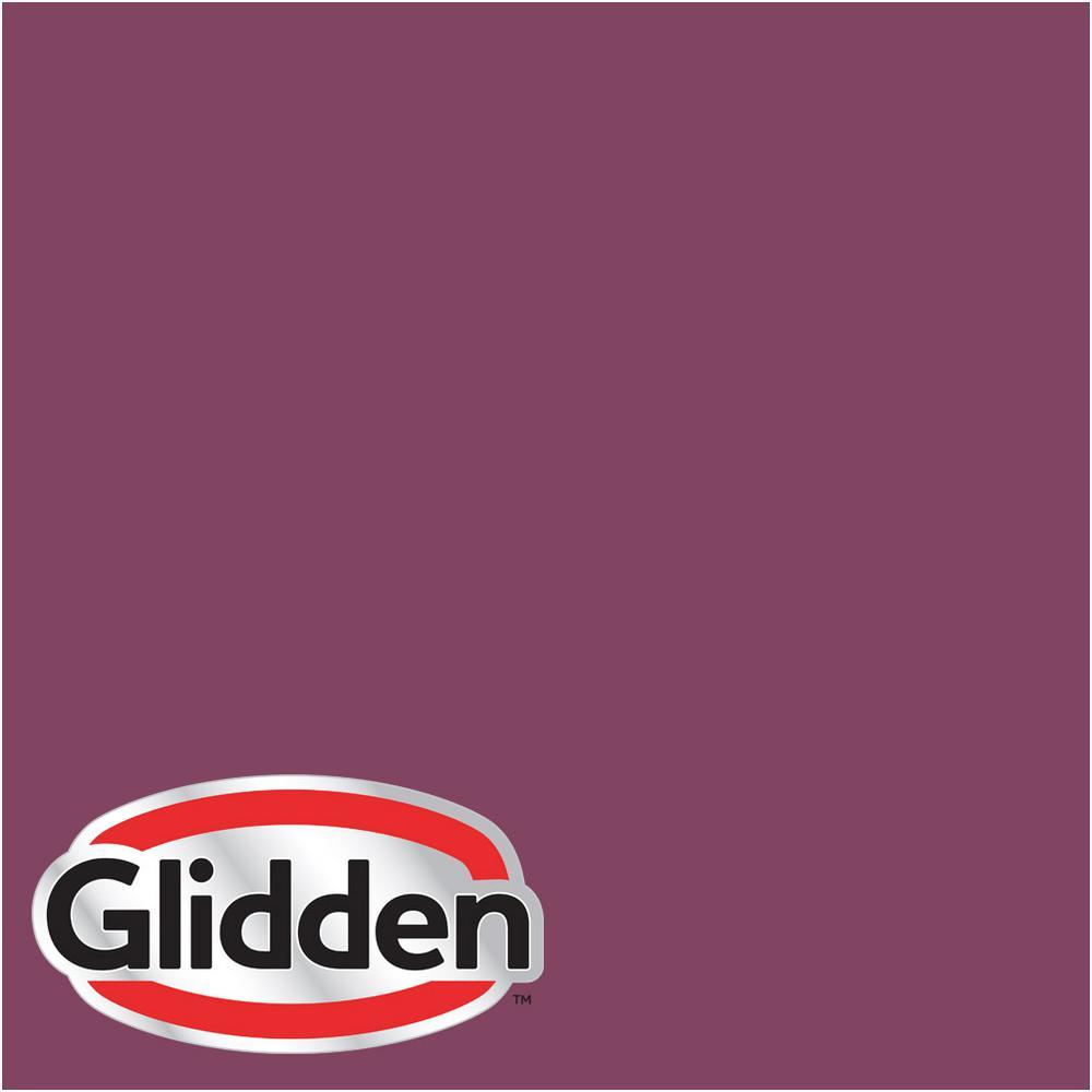 Glidden Premium 8 Oz Hdgr01d Soft Cranberry Eggshell Interior Paint Sample