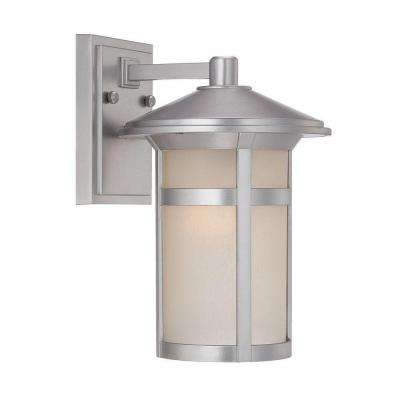 Phoenix Collection 1-Light Outdoor Architectural Bronze Wall Mount Light