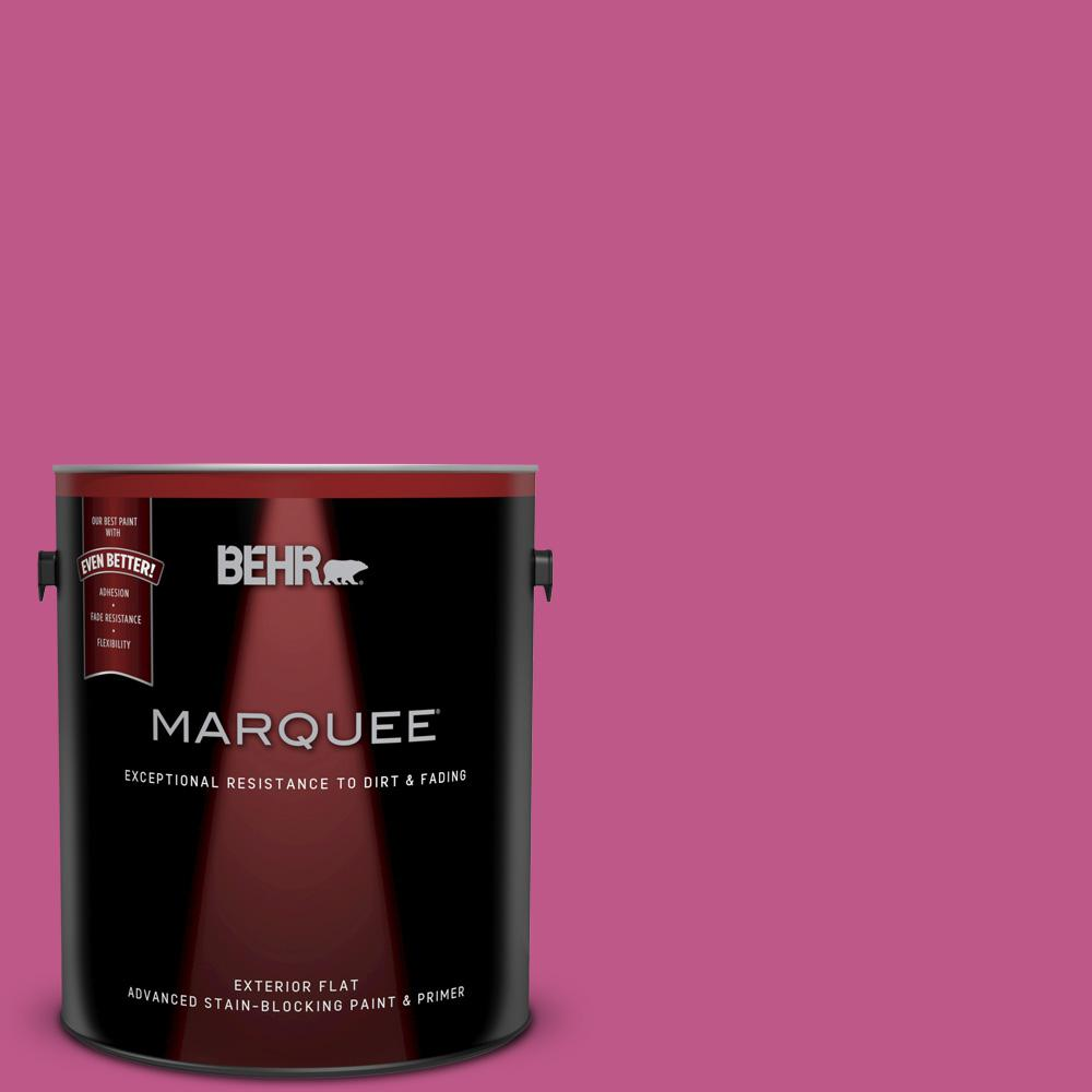 BEHR MARQUEE 1 gal. #P120-5 Beauty Queen Flat Exterior Paint and ...