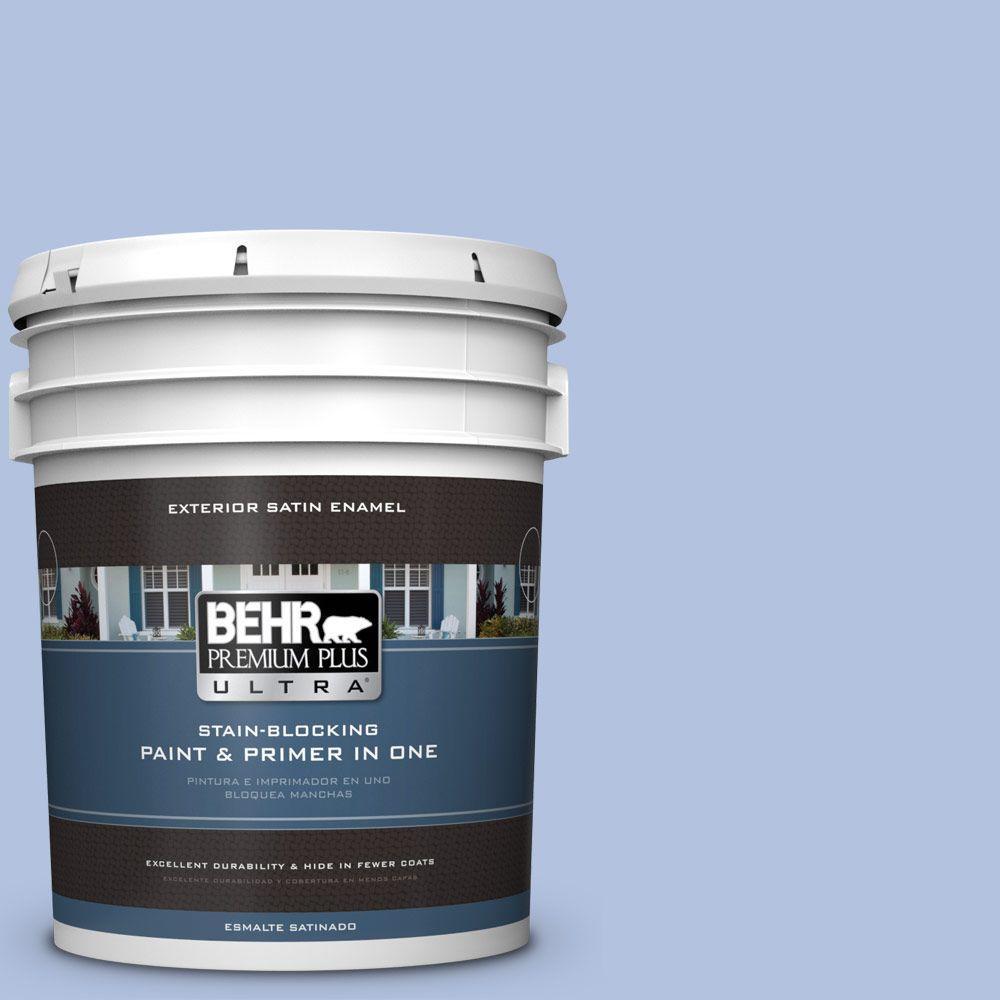 BEHR Premium Plus Ultra 5-gal. #M540-3 Eternal Elegance Satin Enamel Exterior Paint
