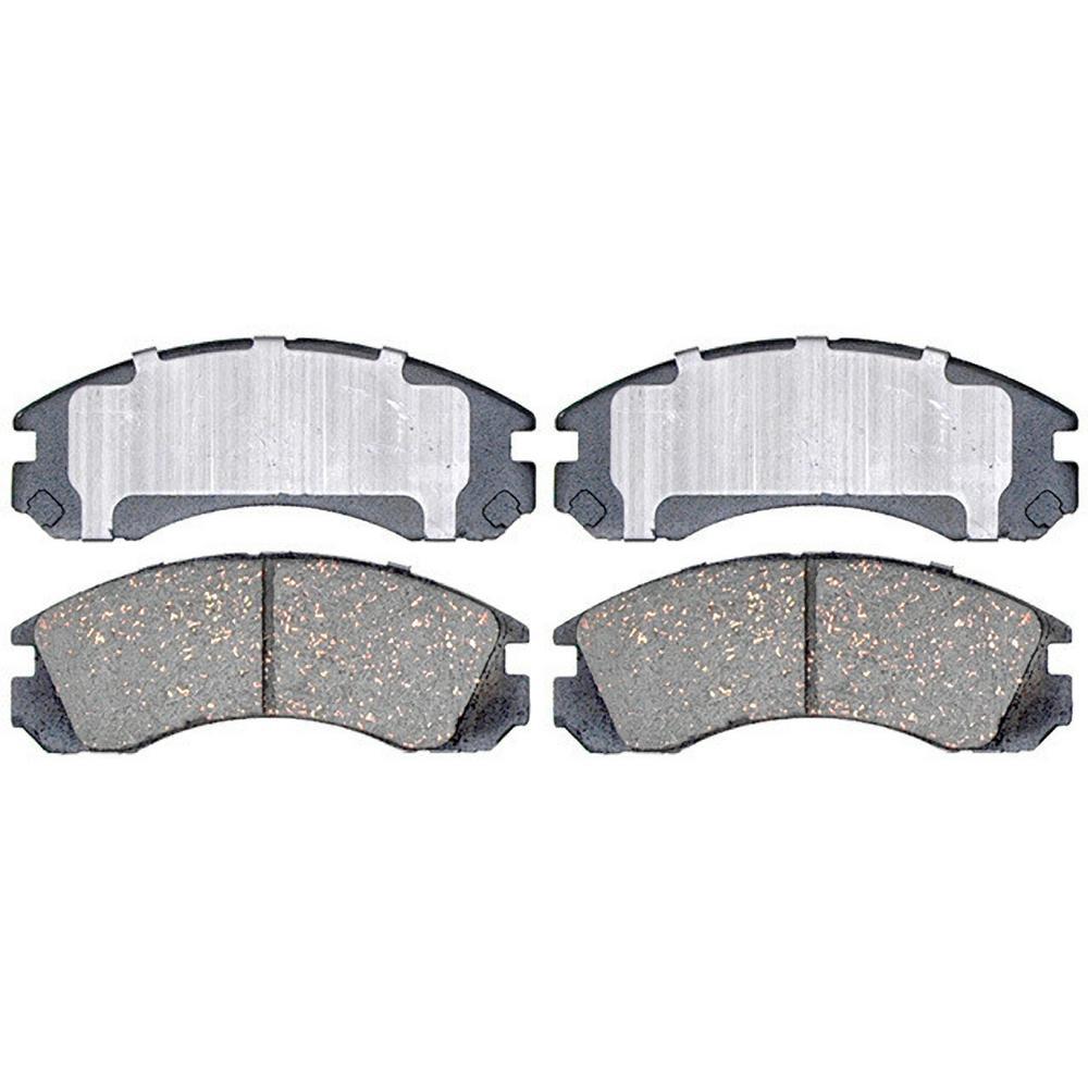 Disc Brake Pad Set-Service Grade Ceramic Disc Brake Pad Front Raybestos SGD723C