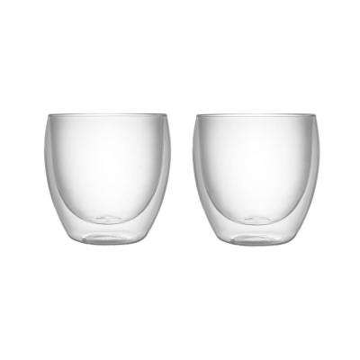 Haus 8.5 oz. Double Wall Glass Tumblers (Set of 2)