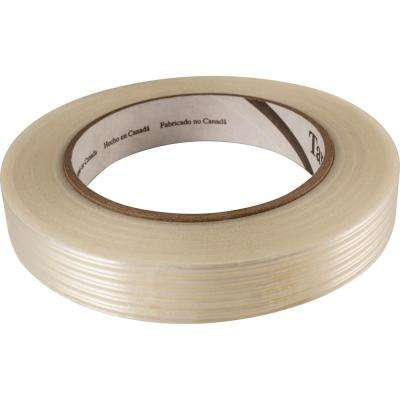 5/8 in. x 150 ft. White All-Purpose Filament Tape
