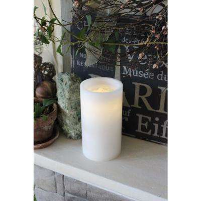 Ivory Fountain Candle