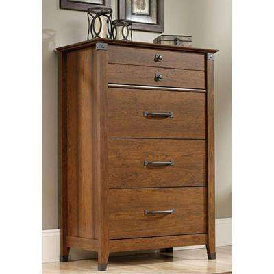Carson Forge 4-Drawer Washington Cherry Chest