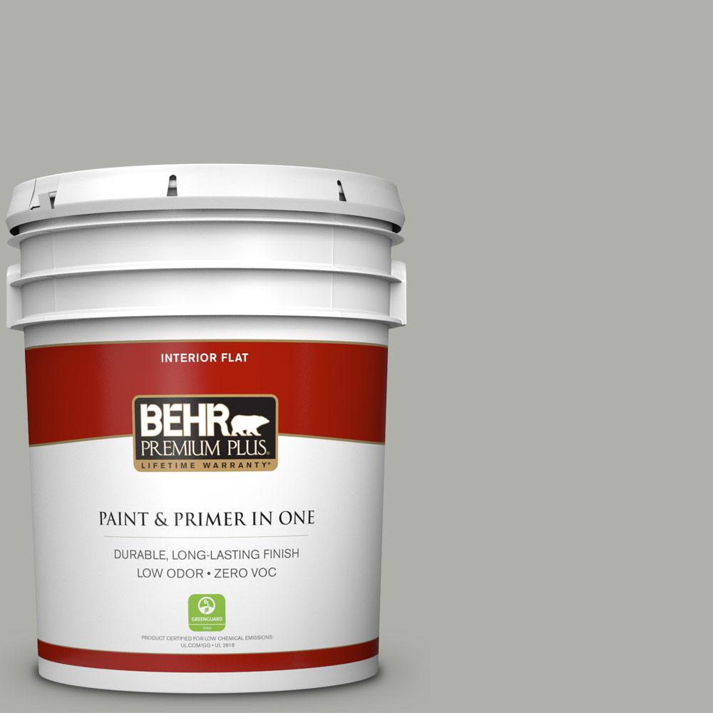 5-gal. #BNC-06 Urban Putty Flat Interior Paint