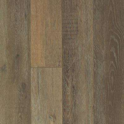 Take Home Sample - Medina Oak Dry Hat Resilient Vinyl Plank Flooring - 5 in. x 7 in.