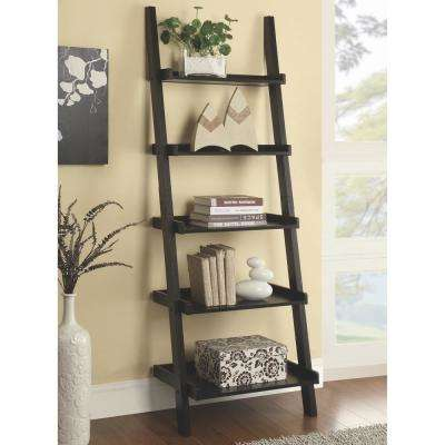 Kyle Cappuccino Ladder Bookcase
