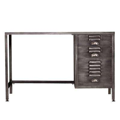 Britta Espresso Desk with Storage