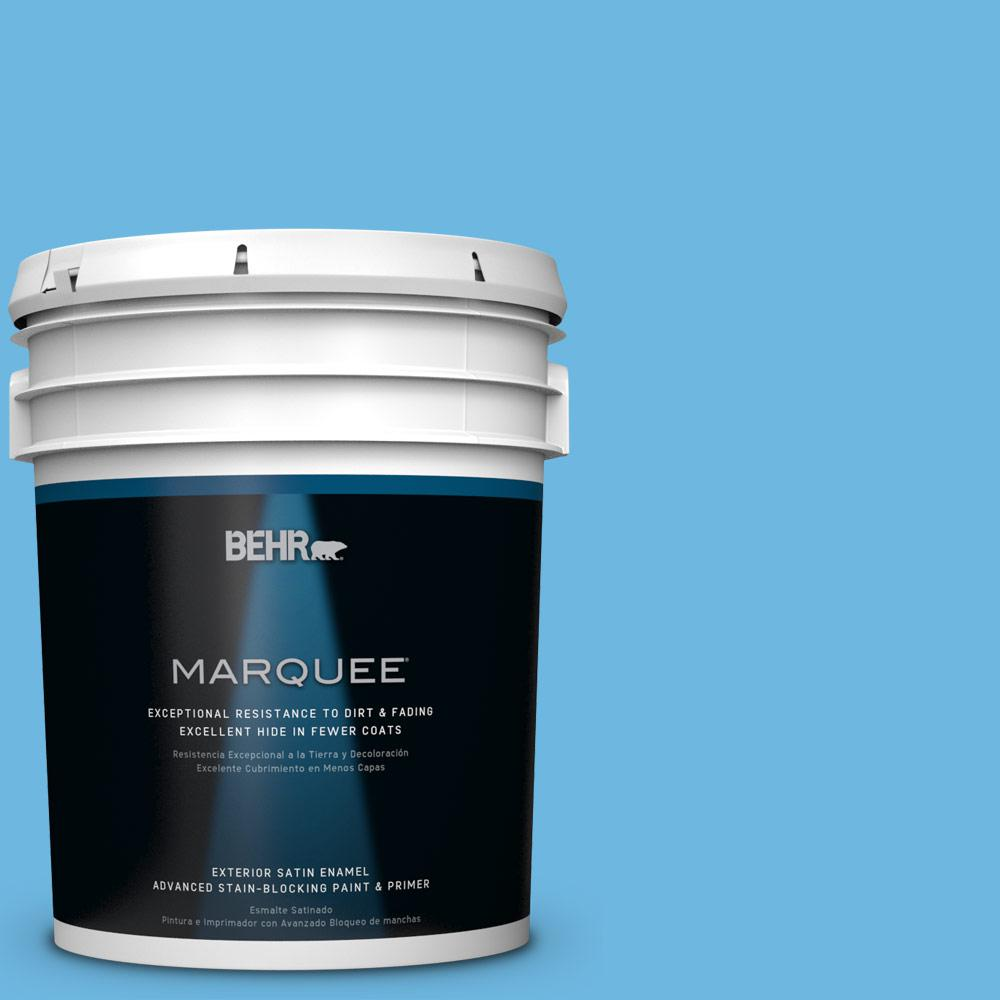 BEHR MARQUEE 5-gal. #P500-4 Life Force Satin Enamel Exterior Paint