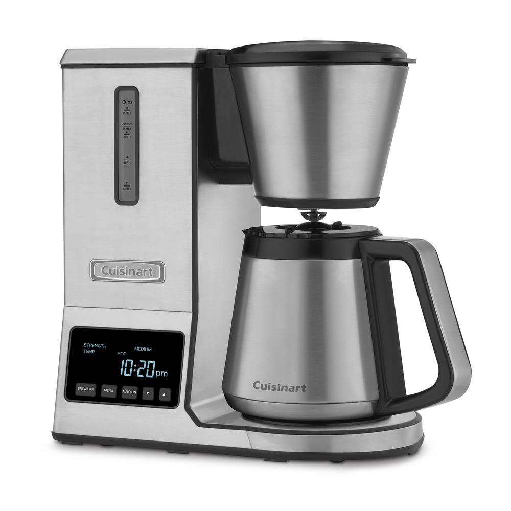 Cuisinart PurePrecision 8-Cup Pour Over Coffee Maker-CPO-850 - The Home Depot