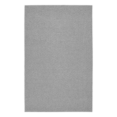 Town Square Silver 9 ft. x 12 ft. Area Rug