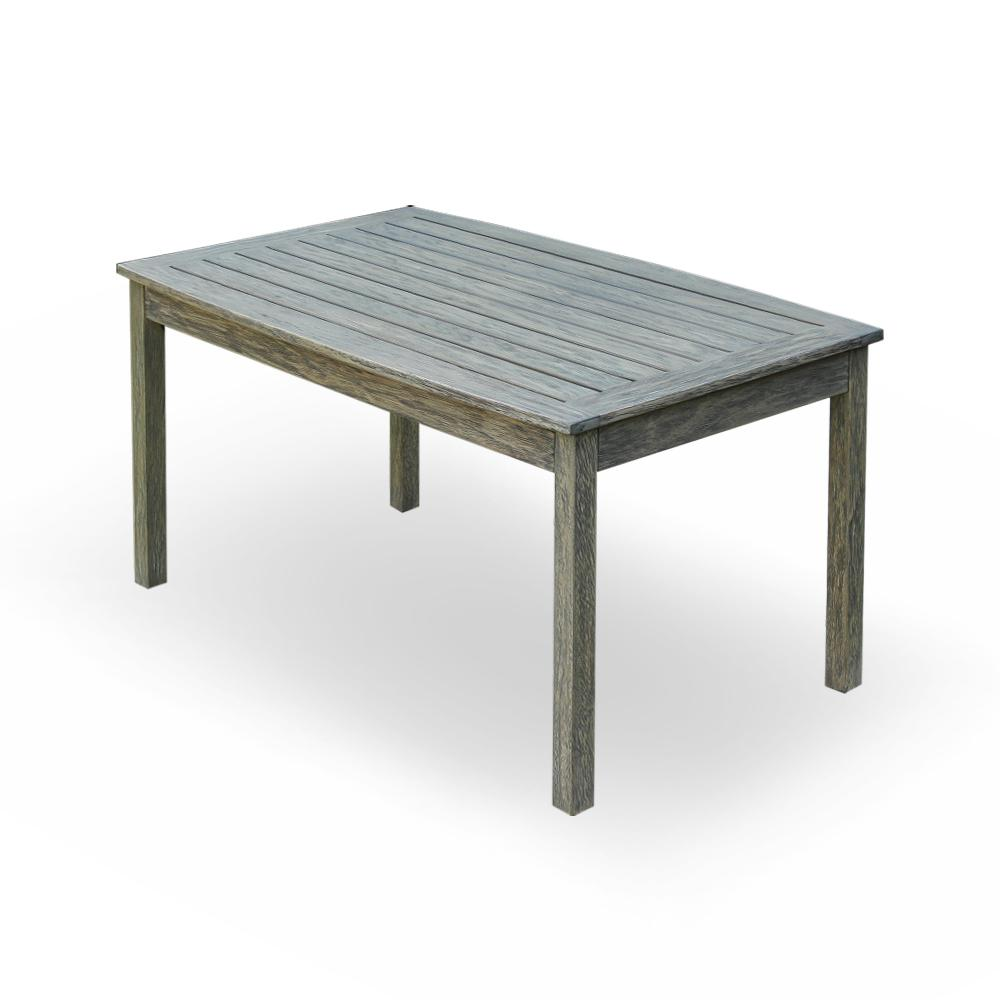 Cambridge Casual Tulle Rectangular Wood Outdoor Coffee Table-HD-170267 - The Home Depot