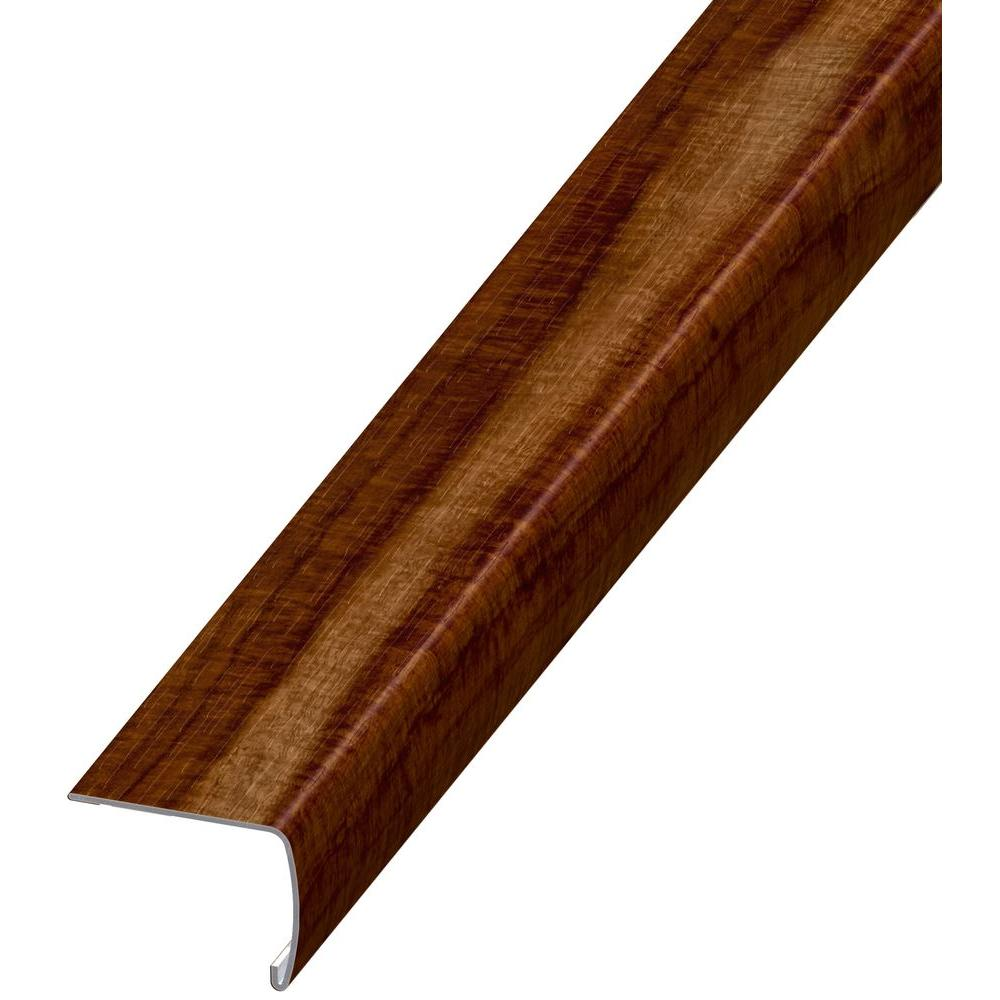 home decorators collection stair nose home decorators collection seashore wood 7 mm thick x 2 in 12886