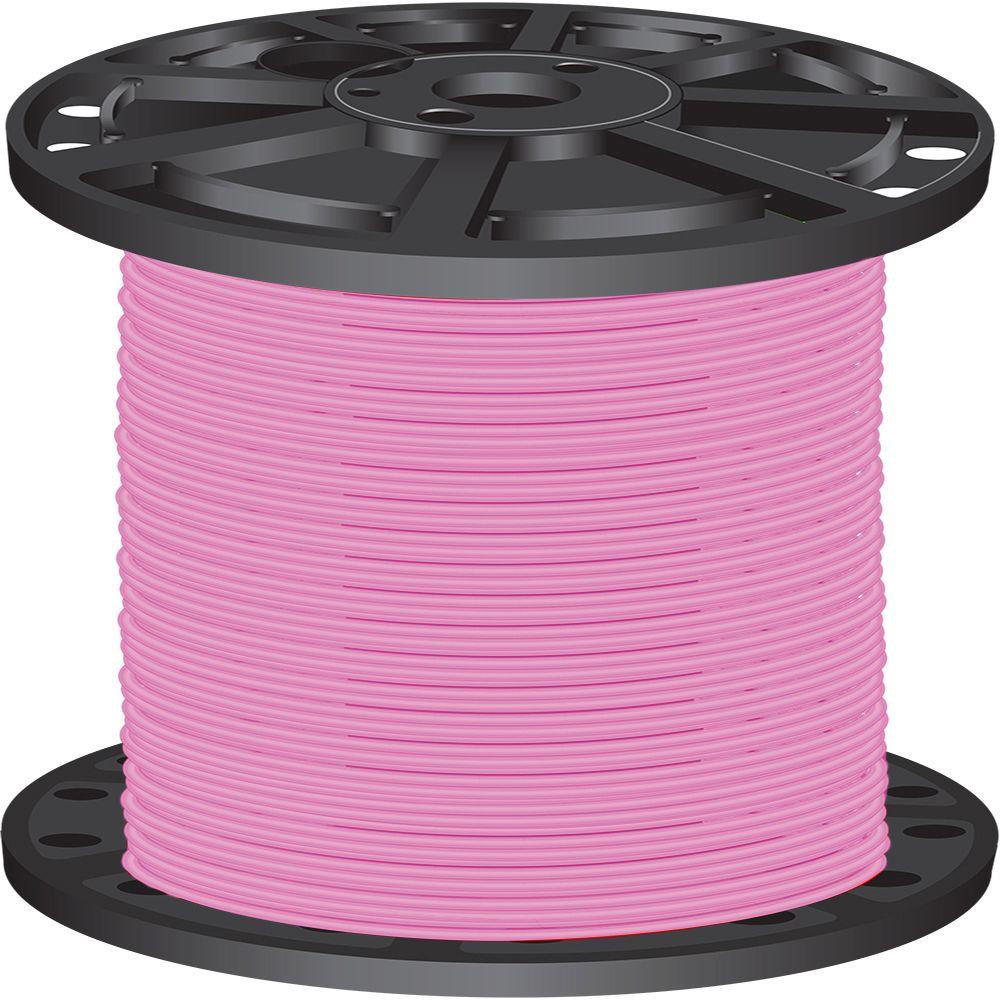 Southwire 2 500 ft 10 Pink Stranded CU THHN Wire 26053906