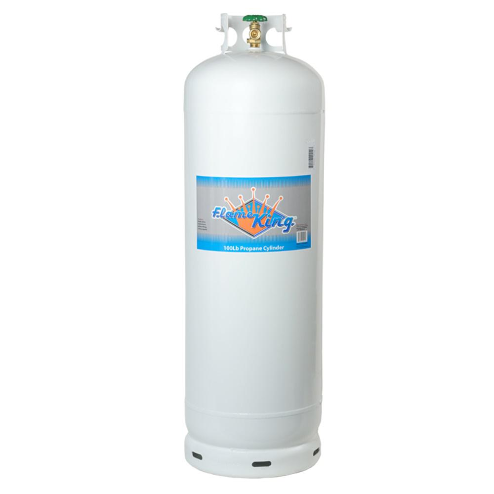 Flame King 100 lb  Empty Propane Cylinder with POL Valve