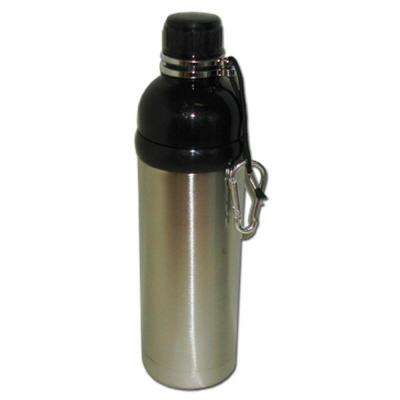 24 oz. Stainless Steel Water Bottle in Black