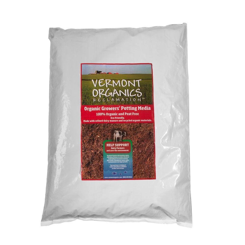 Vermont Organics Reclamation Soil 50 Qt. Oragnic Growers Potting Soil