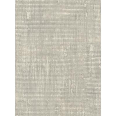 Imperial Metallic Silver and Gold Linen Wallpaper