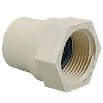 1 in. CPVC CTS Slip x FIP Female Adapter Fitting