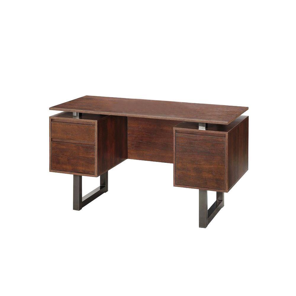 Whalen Cooper Modern Double Pedestal Desk