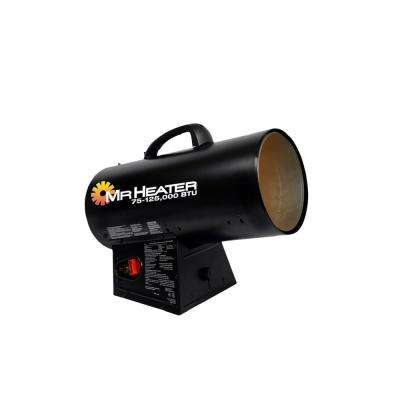 125,000 BTU Forced Air Propane Portable Heater