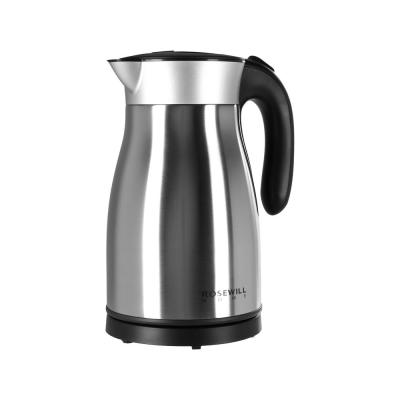 7-Cup Stainless Steel Electric Kettle with Automatic Shut-off