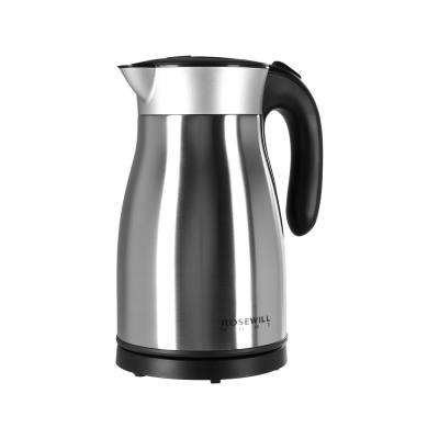 7-Cup (1.7 L) Stainless Steel Double Wall Vacuum Insulated Electric Kettle with Auto Shut-Off Boil Dry Protection