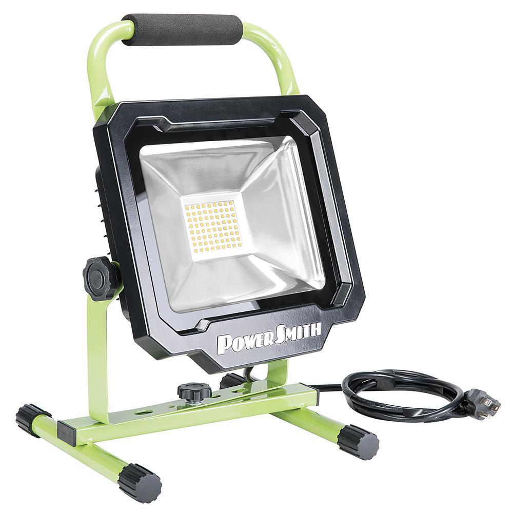 PowerSmith 3750-Lumen LED Portable Work Light-PWL1136BS