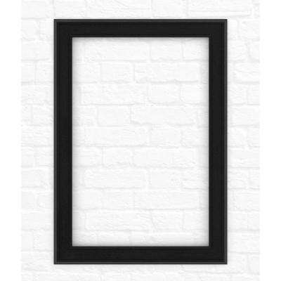 29 in. x 41 in. (M3) Rectangular Mirror Frame in Matte Black