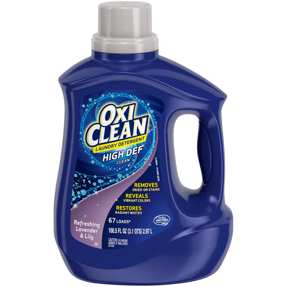 Oxiclean 100 5 Oz Lavender And Lily Liquid Laundry